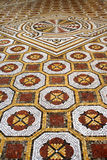 Classic mosaic floor Stock Photography