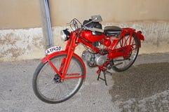 A Classic Moto Guzzi Motorcycle Stock Photography
