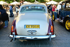 The Classic Moto Show Krakow, Poland. KRAKOW, POLAND - SEPTEMBER 1, 2016. The Classic Moto Show Krakow, an important meeting place for tourists in the Main Royalty Free Stock Images