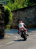 Classic motorbike at Bergamo Historic Grand Prix 2017 Stock Photography