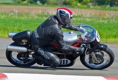 Classic motorbike racing Stock Image