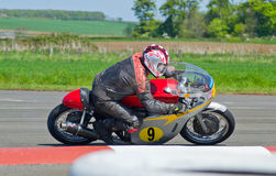 Classic Motorbike racing Stock Photos