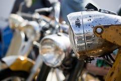 Classic motorcycle Stock Photos