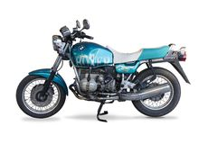 Classic motorcycle Royalty Free Stock Photography