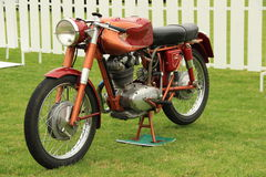 Classic motorcycle Stock Images