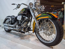 Classic motorcycle Harley-Davidson. Stock Photos