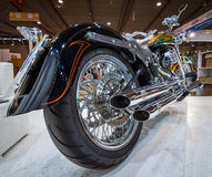 Classic motorcycle Harley-Davidson. Stock Image