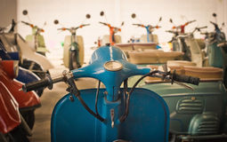 Classic motorcycle Stock Image