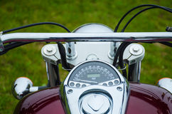 Classic motorcycle photography Royalty Free Stock Image