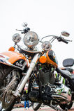 Classic motorcycle photography Stock Photo