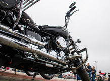 Classic motorcycle photography Royalty Free Stock Photos