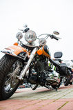 Classic motorcycle photography Stock Image