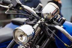 Classic motorcycle photography Stock Images