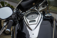 Classic motorcycle photography Stock Photos