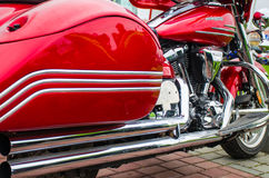 Classic motorcycle photography Royalty Free Stock Photography
