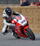 Classic Motorcycle Street Racing Honda CB1000RR at Methven New Z Royalty Free Stock Photography