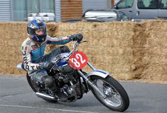 Classic Motorcycle Street Racing Suzuki GS450 at  Methven New Ze Stock Images
