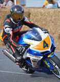 Classic Motorcycle Street Racing Suzuki GSXR600 at  Methven New Royalty Free Stock Images