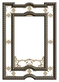 Classic moulding frame with ornament decor royalty free stock image