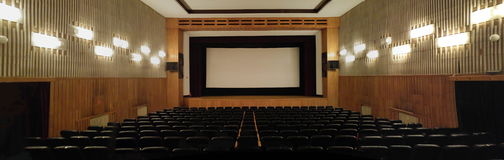 Classic movie theatre Royalty Free Stock Photography