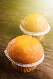 Classic muffin Stock Photo