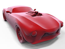 Classic muscle car concept Royalty Free Stock Photography