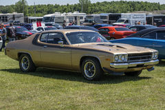 Classic muscle cars Royalty Free Stock Photos
