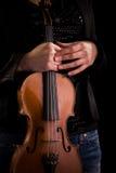 Classic Music instrument - violin stock photos