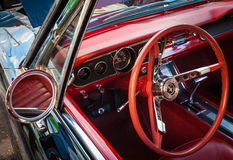 Classic Mustang interior 64 Stock Photo
