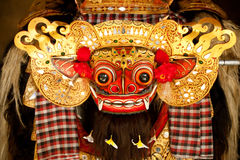 Classic national Balinese dance Barong Stock Photography