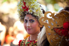 Classic national Balinese dance Barong Stock Image