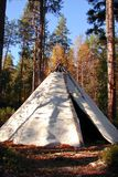 Classic native Indian tee-pee Stock Image