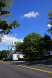 Classic New England church Royalty Free Stock Image