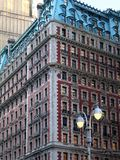 Classic New York Architecture. This is a nice example of turn of the century gothic type architecture in New York City stock photography