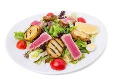 Classic nicoise salad. Stock Image