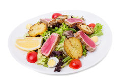 Classic nicoise salad. Stock Photography