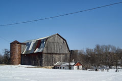 Classic Northern Michigan Barn Royalty Free Stock Images