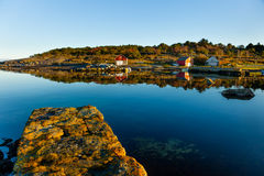 Classic Norway view Royalty Free Stock Photos