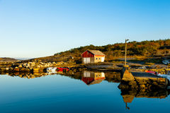 Classic Norway view Royalty Free Stock Photo