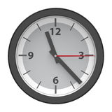 Classic office clock Stock Images