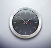 Classic office clock Stock Photo