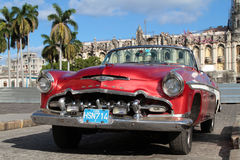 Classic old American car Royalty Free Stock Image