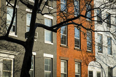 Classic old apartment building, New York City Royalty Free Stock Photography