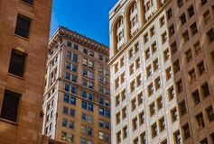 Classic Old Architecture Downtown Detroit Royalty Free Stock Photo