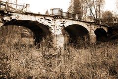 Classic old bridge Royalty Free Stock Photography