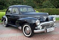 Classic old car black Stock Photo
