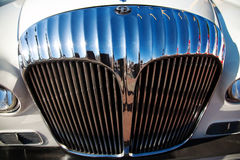 Classic old car front view Royalty Free Stock Photo