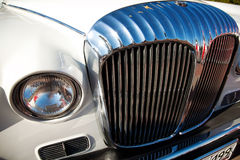 Classic old car front view Royalty Free Stock Photography