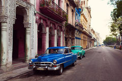 Classic old car on streets of Havana, Cuba. Classic old car on streets of Havana, Cuba Stock Image
