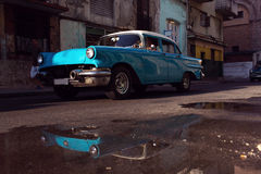 Classic old car on streets of Havana, Cuba. Classic old car on streets of Havana, Cuba Royalty Free Stock Photos